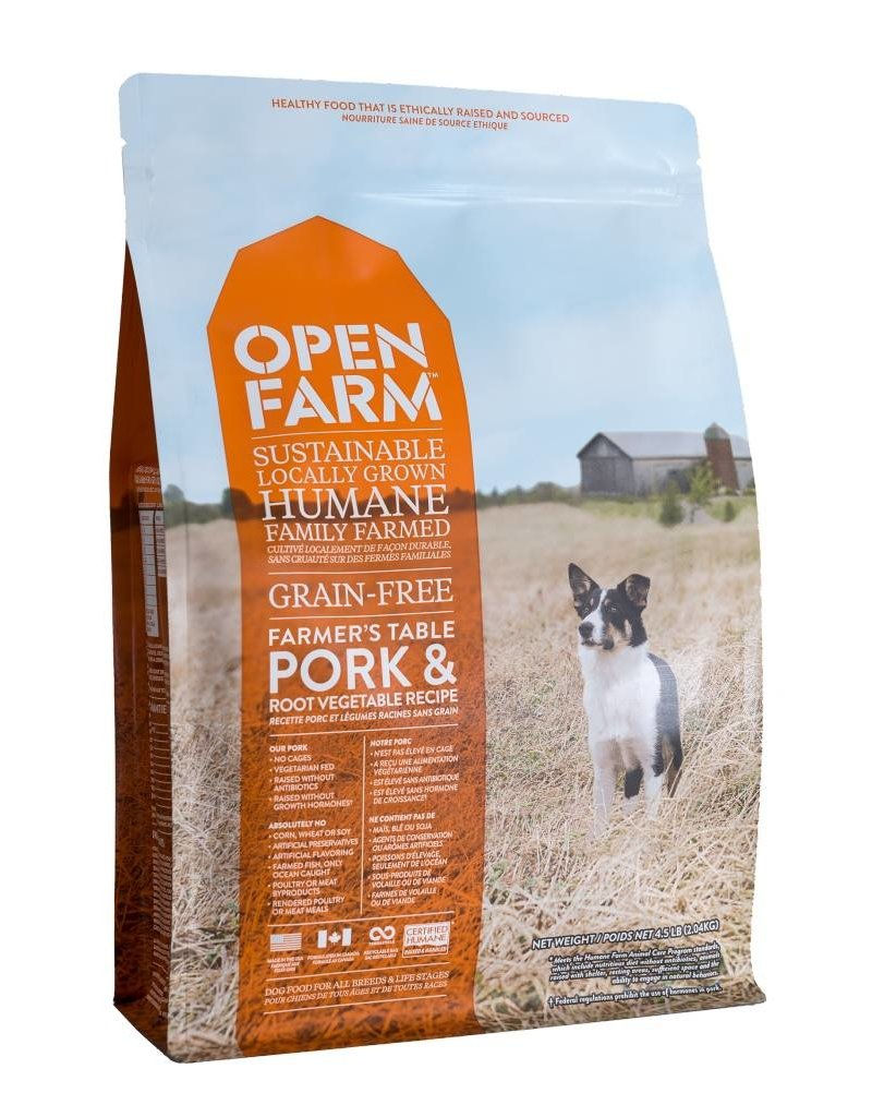 Open Farm Open Farm GF Dog Kibble Pork 4.5 lb