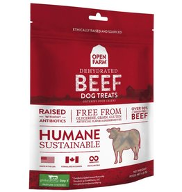 Open Farm Open Farm Dehydrated Dog Treats Beef 4.5 oz