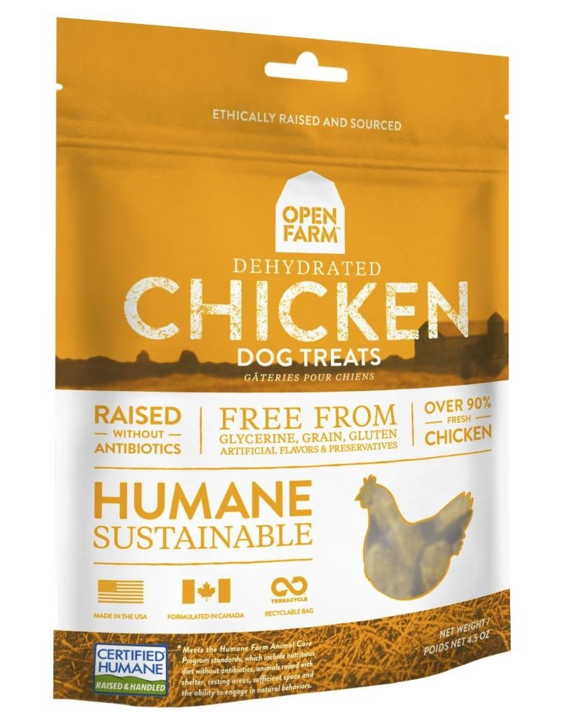 Open Farm Open Farm Dehydrated Dog Treats Chicken 4.5 oz