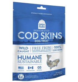 Open Farm Open Farm Dehydrated Dog Treats Cod Skins 4.5 oz