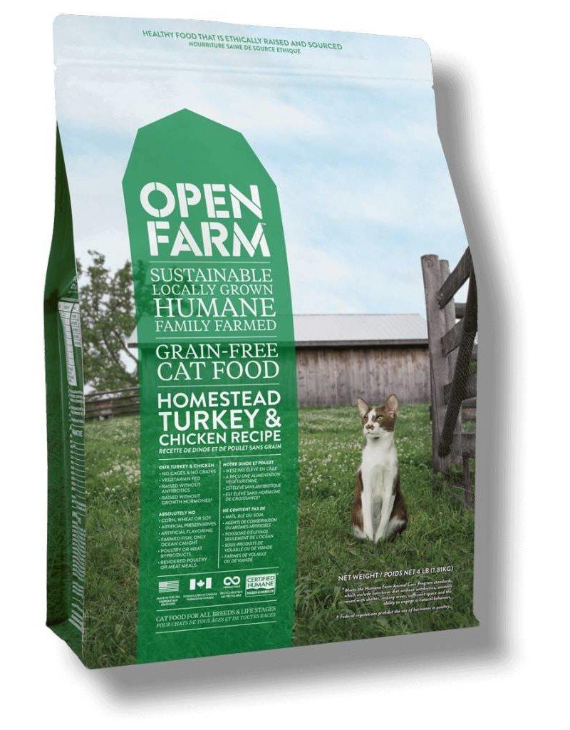 Open Farm Open Farm GF Cat Kibble Turkey & Chicken 8 lb