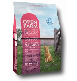 Open Farm Open Farm GF Cat Kibble Salmon 4 lb