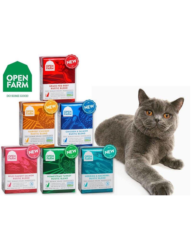 Open Farm Open Farm Cat Rustic Blend Beef 5.5 oz single