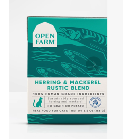 Open Farm Open Farm Cat Rustic Blend Herring & Mackerel 5.5 oz CASE