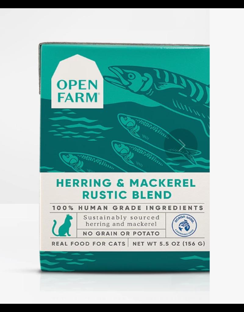 Open Farm Open Farm Cat Rustic Blend Herring & Mackerel 5.5 oz CASE