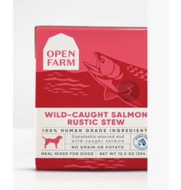 Open Farm Open Farm Dog Rustic Stew Salmon 12.5 oz CASE