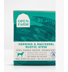 Open Farm Open Farm Dog Rustic Stew Herring & Mackerel 12.5 oz CASE