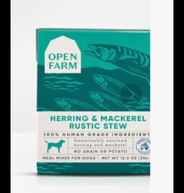 Open Farm Open Farm Dog Rustic Stew Herring & Mackerel 12.5 oz CASE