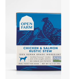 Open Farm Open Farm Dog Rustic Stew Chicken & Salmon 12.5 oz CASE