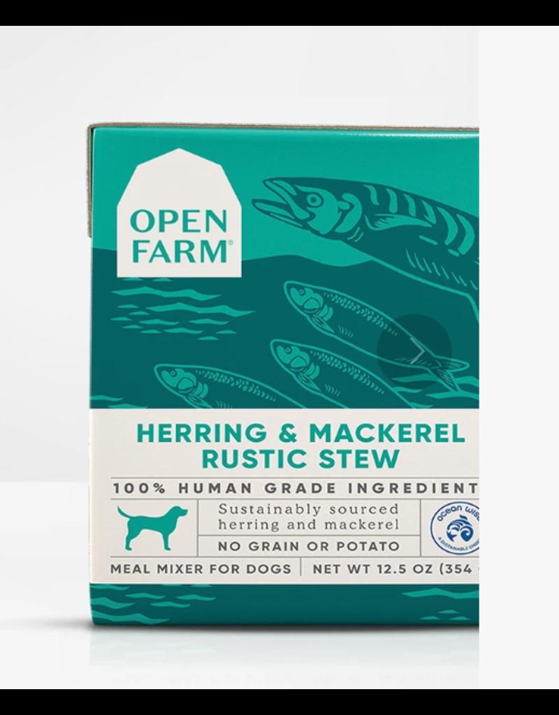 Open Farm Open Farm Dog Rustic Stew Herring & Mackerel 12.5 oz single