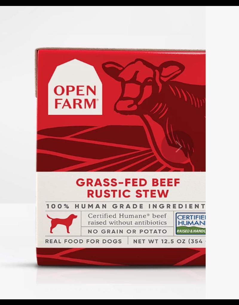 Open Farm Open Farm Dog Rustic Stew Beef 12.5 oz CASE