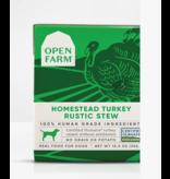 Open Farm Open Farm Dog Rustic Stew Turkey 12.5 oz CASE