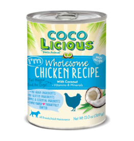 Party Animal Cocolicious Dog Can Chicken 13 oz single
