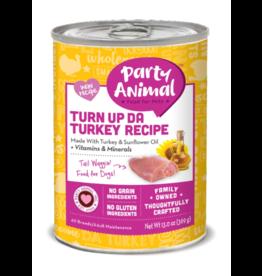 Party Animal Party Animal Organic Dog Can Turn Up Da Turkey 13 oz CASE