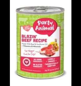 Party Animal Organic Dog Can Blazin' Beef 13 oz CASE