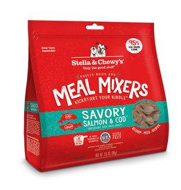 Barkworthies Stella & Chewy's Meal Mixers Savory Salmon & Cod 9 oz