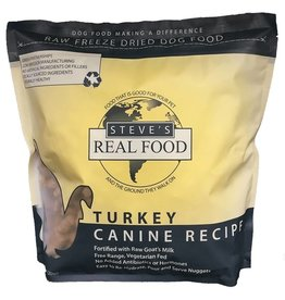 Steve's Real Food Steve's Real Food Freeze Dried Dog Food Turkey 20 oz
