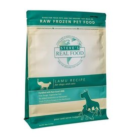 Steve's Real Food Steve's Real Food Frozen Dog & Cat Patties Lamu 20 lbs (*Frozen Products for Local Delivery or In-Store Pickup Only. *)