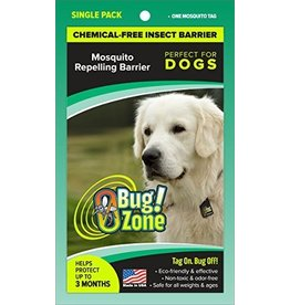 Zero Bug Zone Zero Bug Zone Products Mosquito Single Pack for Dogs
