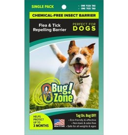 Zero Bug Zone Zero Bug Zone Products  Flea & Tick Single Pack for Dogs