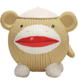HuggleHounds HuggleHounds Ruff-Tex Sock Monkey Ball Large