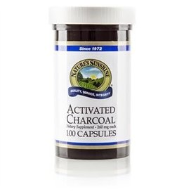 Nature's Sunshine Nature's Sunshine Supplements Activated Charcoal 100 capsules
