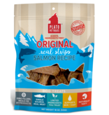 Plato Plato Dog Jerky Treats Organic Salmon Strips 18 oz