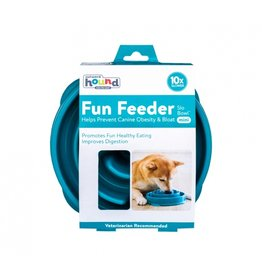 Outward Hound Outward Hound Fun Feeder Mini Swirl Teal