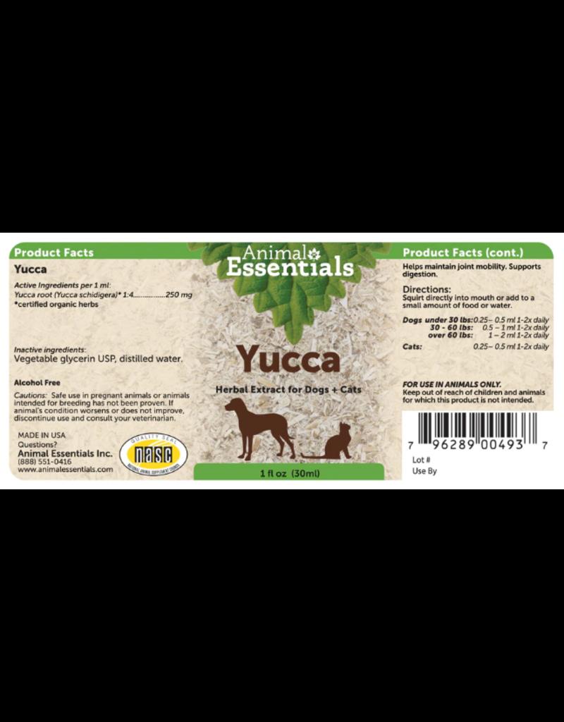 Animal Essentials Animal Essentials Tinctures  Yucca 2 oz