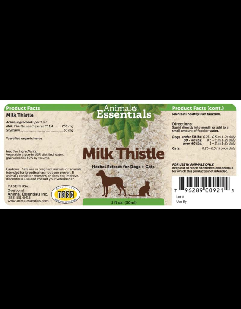 Animal Essentials Animal Essentials Tinctures  Milk Thistle 2 oz