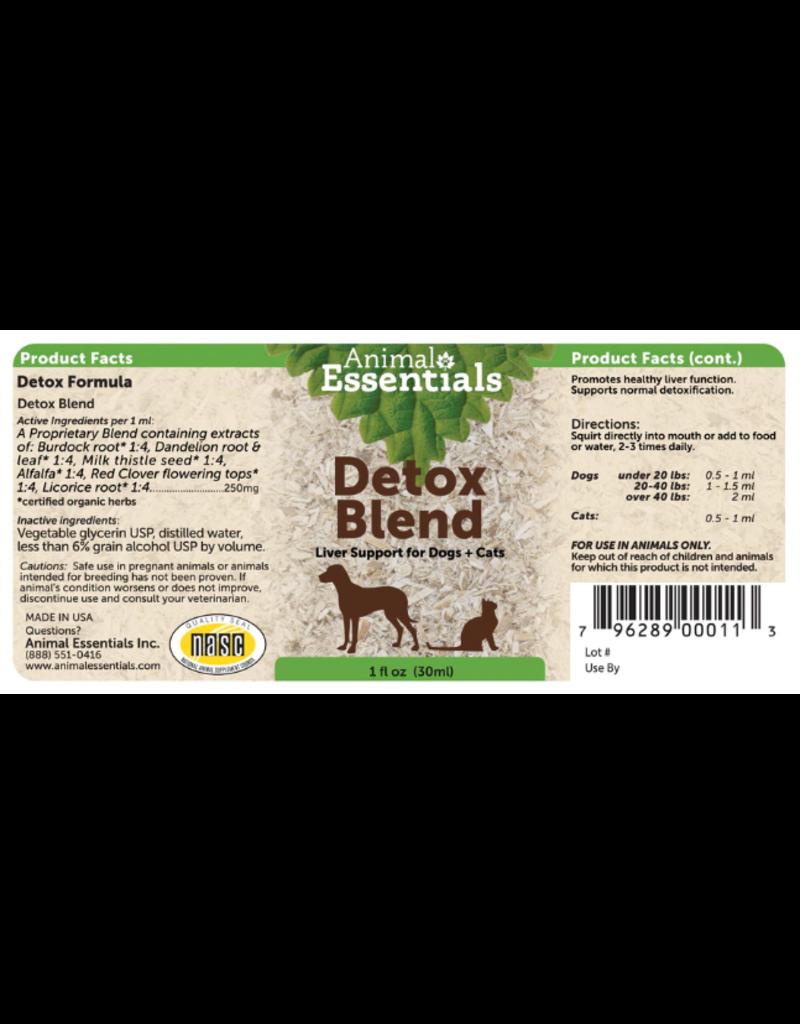 Animal Essentials Animal Essentials Tinctures  Detox Blend 2 oz