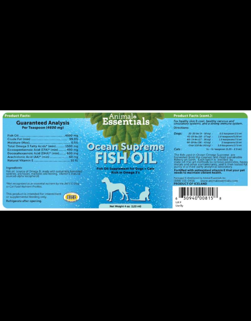 Animal Essentials Animal Essentials Ocean Omega Fish Oil 4 fl oz