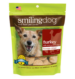 Herbsmith Herbsmith Smiling Dog Freeze Dried Treats Turkey w/ Sweet Potatoes & Ginger 2.5 oz