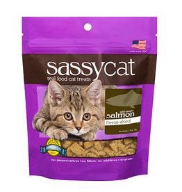 Herbsmith Herbsmith Sassy Cat Freeze Dried Cat Treats Salmon 0.88 oz