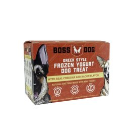 Boss Dog Brand Boss Dog Brand Greek Style Frozen Yogurt | Cheddar & Bacon 4 Cups 14 oz ( *Frozen Products for Local Delivery or In-Store Pickup Only. *)