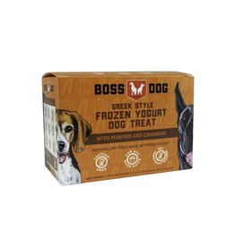 Boss Dog Brand Boss Dog Brand Greek Style Frozen Yogurt | Pumpkin & Cinnamon 4 Cups 14 oz (*Frozen Products for Local Delivery or In-Store Pickup Only. *)