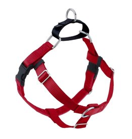 "2 hounds Design 2 Hounds Design Freedom No-Pull Harness 1""  Extra Large (XL) Red"