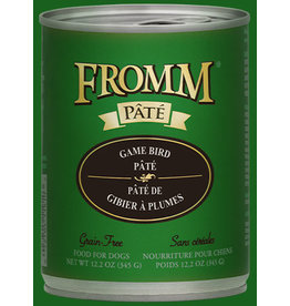 Fromm Fromm Gold Canned Dog Food CASE Game Bird Pate 12.2 oz