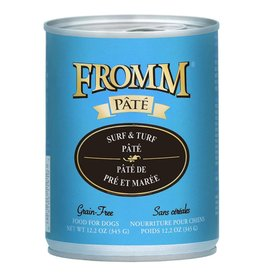 Fromm Fromm Gold Canned Dog Food CASE Surf & Turf Pate 12.2 oz