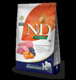 Farmina Pet Foods Farmina Grain Free Dog Kibble Pumpkin, Lamb & Blueberry 26.5 lbs