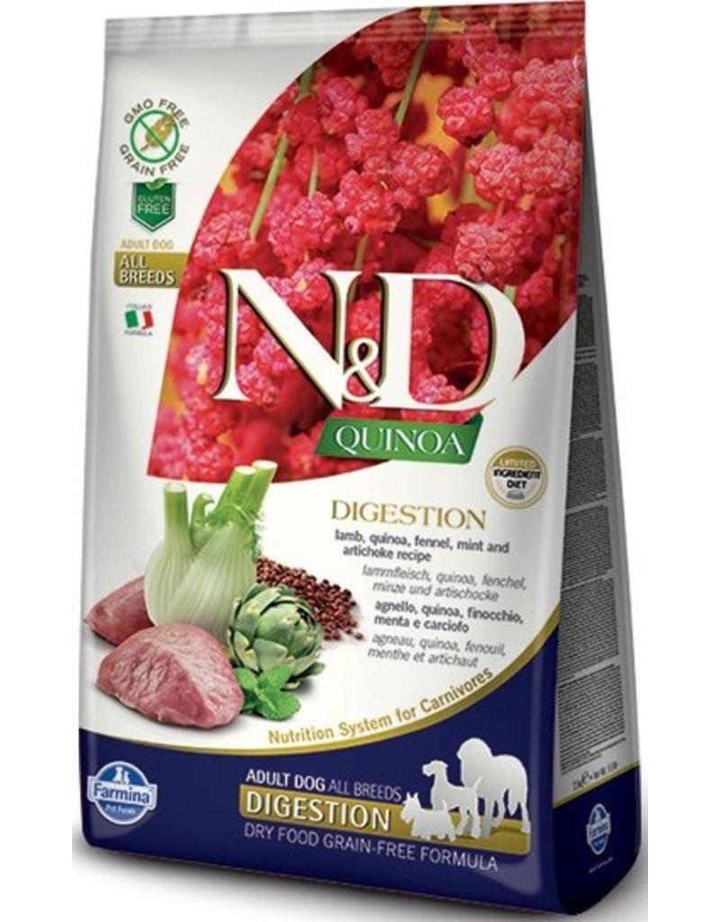 Farmina Pet Foods Farmina Grain-Free Dog Kibble Digestion Quinoa Lamb 15.4 lb