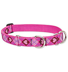 "Lupine Originals Martingale Collar 1"" Puppy Love 15""-22"""