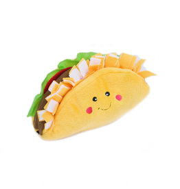 Zippy Paws Plush Toy | NomNomz Taco