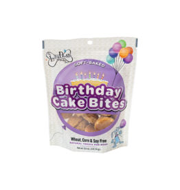Lazy Dog Cookie Co. Lazy Dog Soft Baked Dog Treats | Birthday Cake Bites 5 oz single