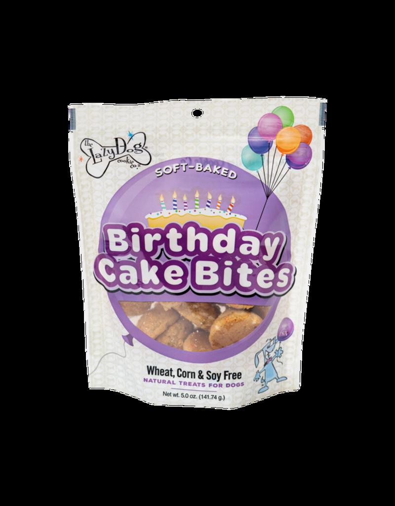 Lazy Dog Cookie Co. Lazy Dog Soft Baked Dog Treats | Birthday Cake Bites 5 oz single