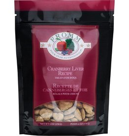 Fromm Fromm Crunchy Dog Treats Cranberry & Liver 8 oz