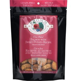 Fromm Fromm Crunchy Dog Treats Salmon & Sweet Potato 8 oz