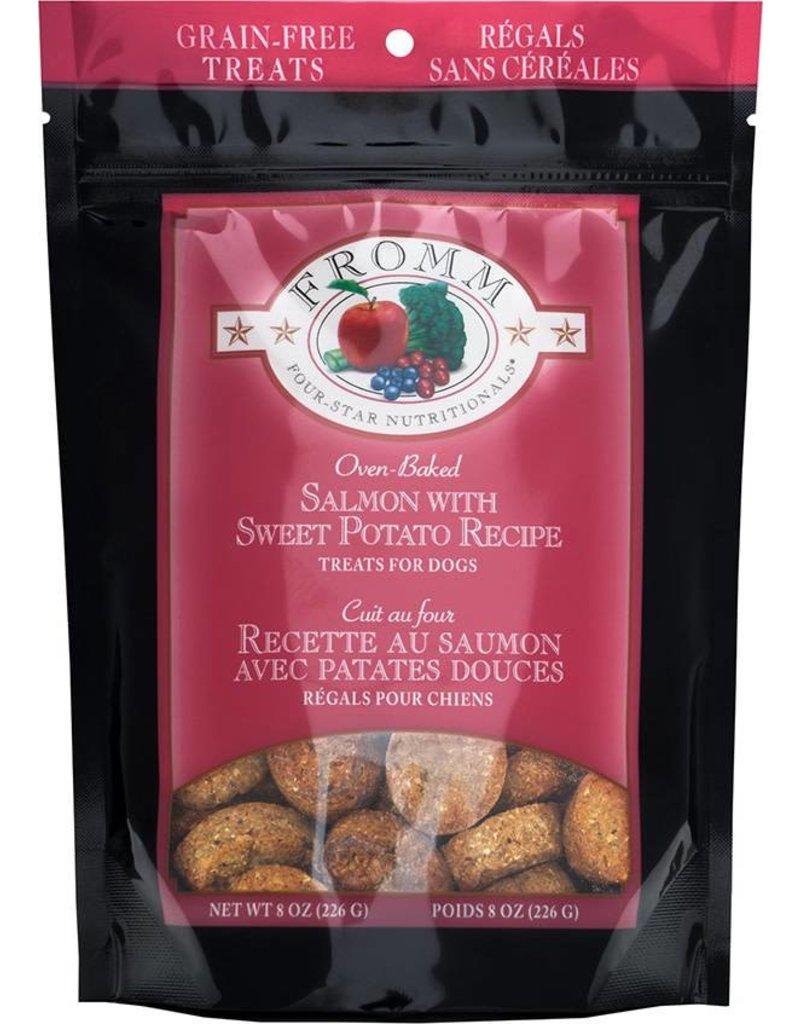 Fromm Fromm Crunchy Dog Treats Salmon & Sweet Potato 8 oz