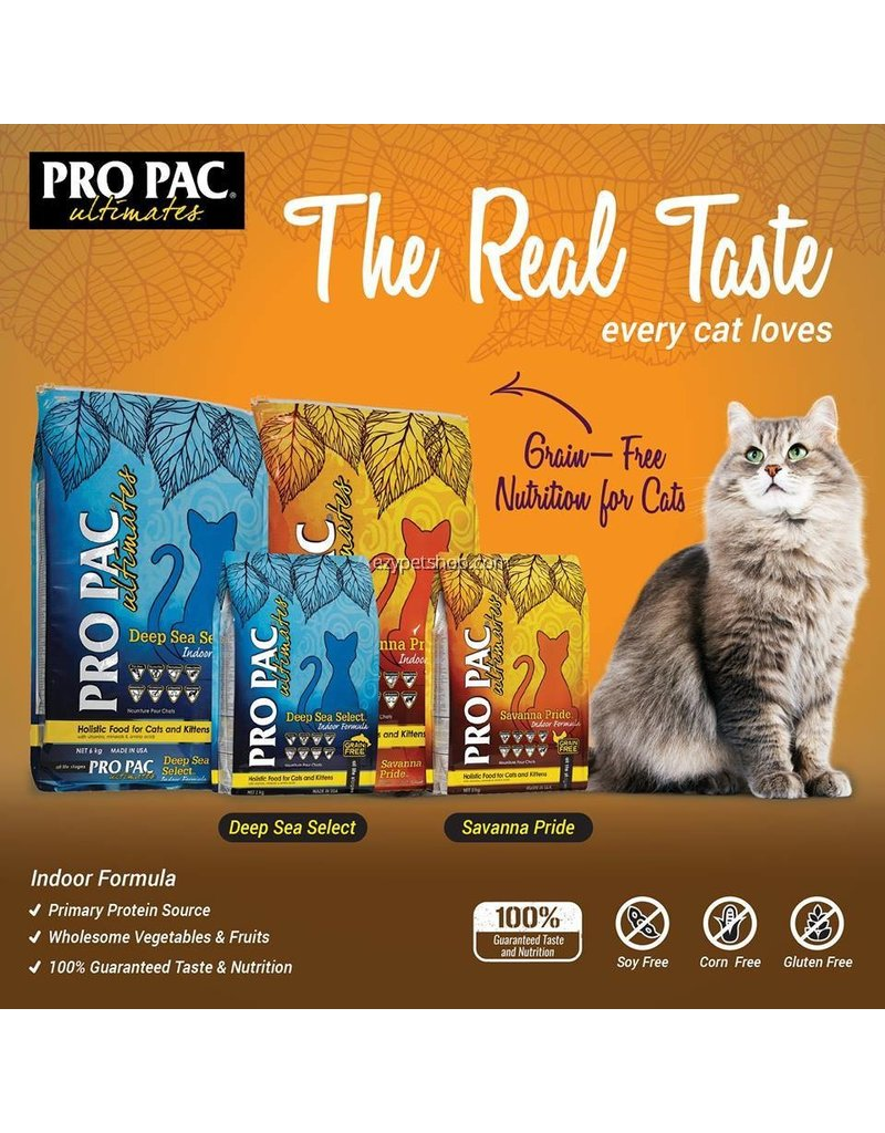 Midwestern Pet Foods Pro Pac Ultimates Cat Kibble Savanna Pride Chicken 5 lb
