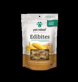 Pet Releaf Pet Releaf Soft Chew Edibites Large Breed Peanut Butter & Banana 7.5 oz